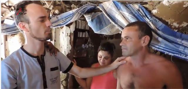 Sertanejo de 40 anos que não conhecia Jesus é evangelizado e se converte; Assista