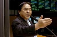 Pastor e deputado Hidekazu Takayama está internado em estado grave por problemas cardíacos