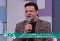 No Superpop, Marco Feliciano debate a existência de ex-gays e o preconceito contra eles; Assista