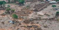 Templo da Assembleia de Deus resiste a avalanche de lama da tragédia em Mariana (MG)