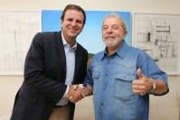 """Paes e Lula explicitam desprezo por evangélicos: """"Se sentem enviados de Deus""""; Ouça gravação"""