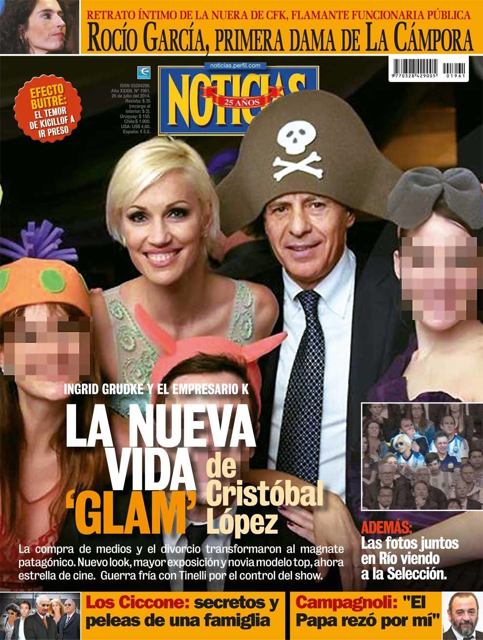 La nueva vida 'glam' de Cristóbal López