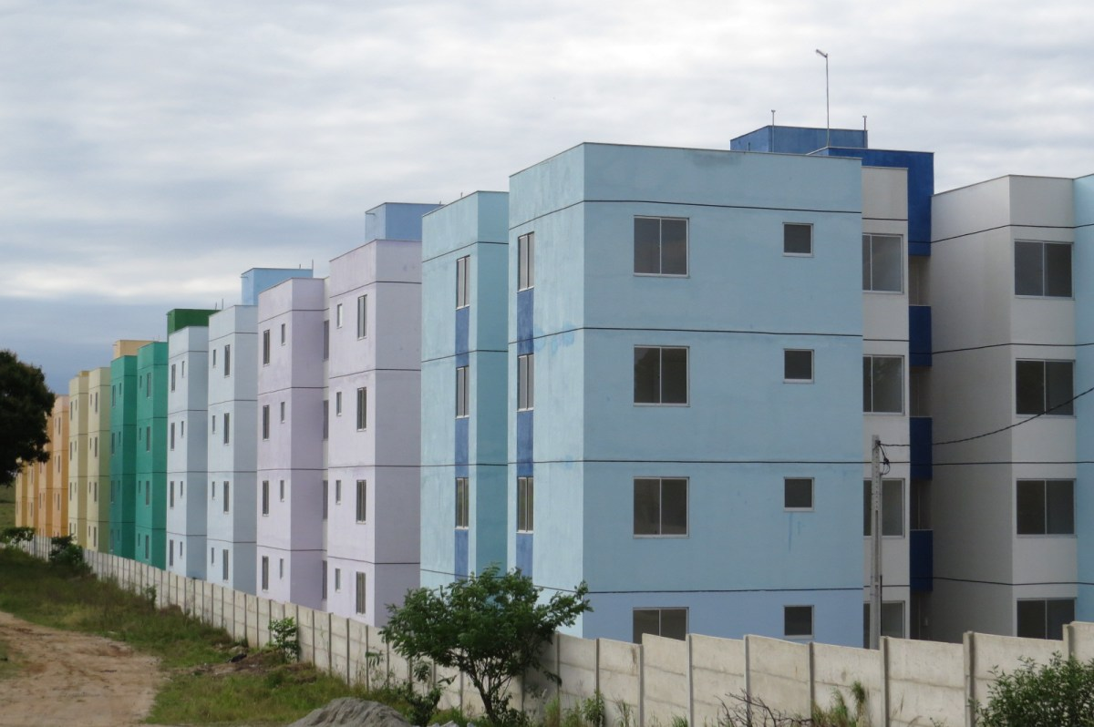 Obras do empreendimento Minha Casa Minha Vida no bairro Rua do Fogo, São Pedro da Aldeia, entram na fase final