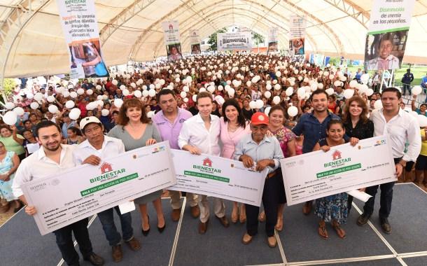 Manuel Velasco pone en marcha el programa Piso Seguro en San Fernando