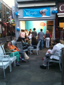 Murphys Ice cream in Temple Bar