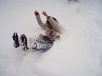 雪遊び2011の2