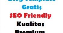 Blog Template Gratis SEO Friendly Kualitas Premium