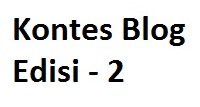 Kontes Blog Notordinaryblogger Edisi 2