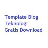 5 Template Blog Tema Teknologi yang Responsive