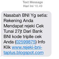 Cara Pastikan SMS Penipuan Undian Berhadiah 3