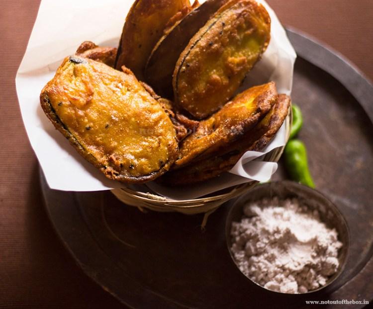 Beguni/ Eggplant Fritters