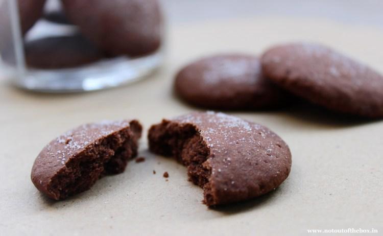 Chocolate Shortbread Cookies