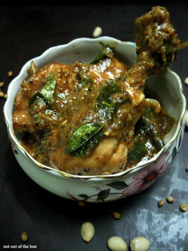 Chicken Peanut Masala