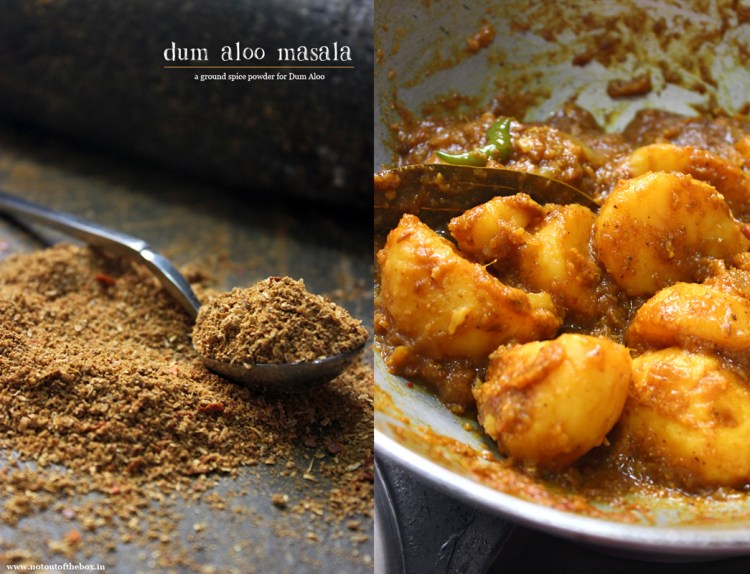 Dum Aloo Masala & Kosha Aloo r Dom