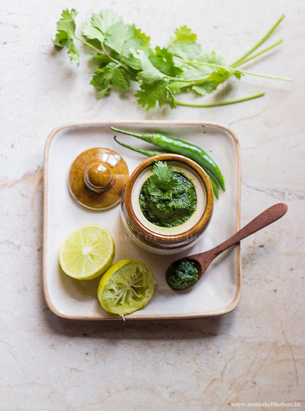 Green Chutney/Hari Chutney
