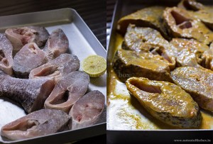 First and Second Marination
