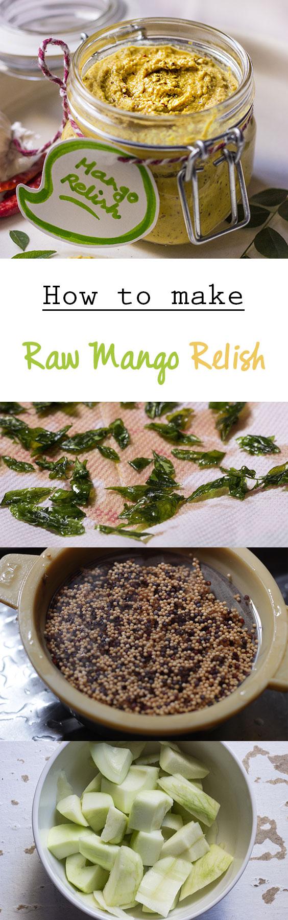 Raw Mango Relish