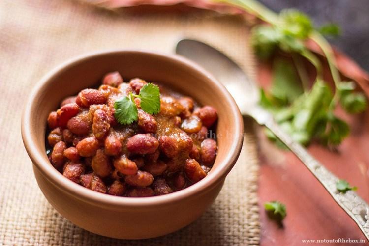 Rajma Masala/Red Kidney Beans Curry