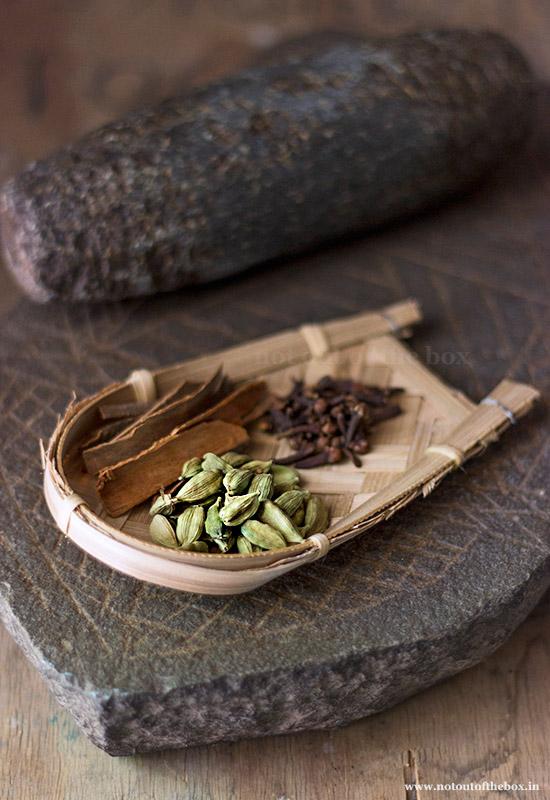 Ingredients for 'Bengali Garam Masala'