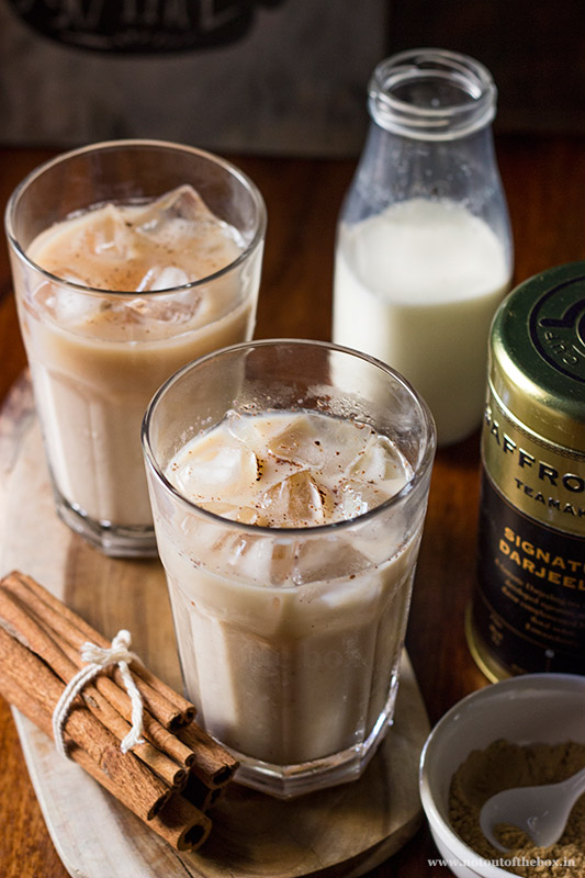 Darjeeling Iced Tea Latte