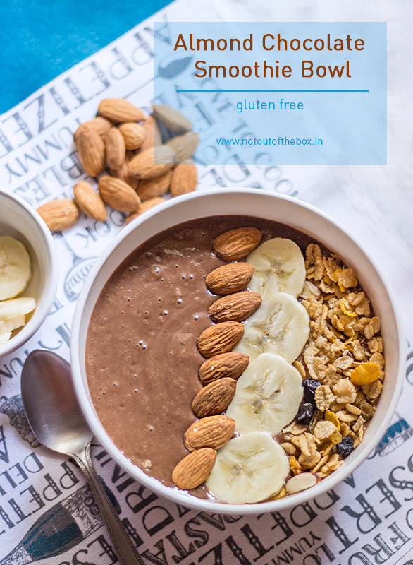 Almond Chocolate Smoothie Bowl