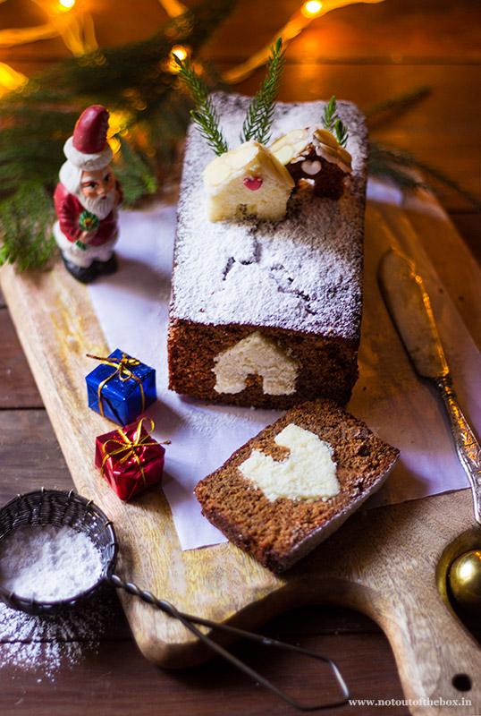 GingerBread Peekaboo Villa Cake