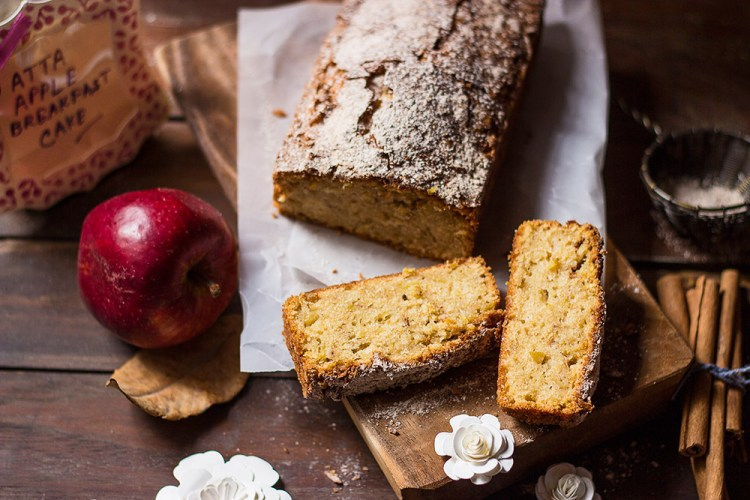 Atta Apple Breakfast Cake