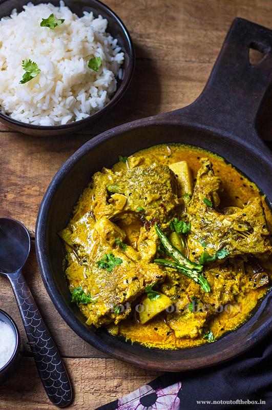 Sorshe Tilapia/Mustard Telapia Curry