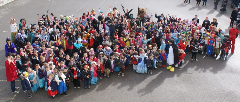 Carnaval - photo de groupe