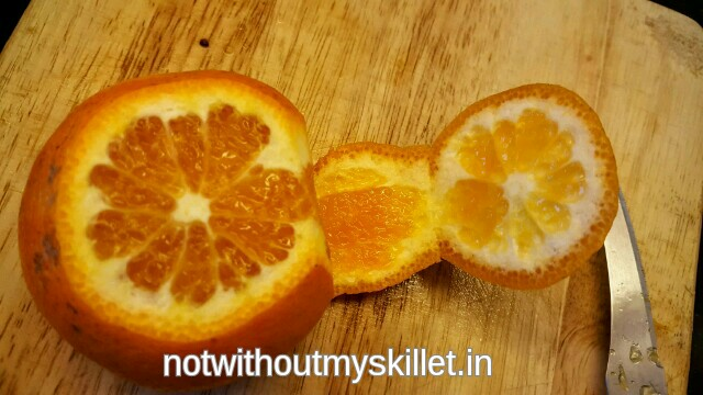 This is one of the easiest ways to peel and slice citrus fruits in one go!