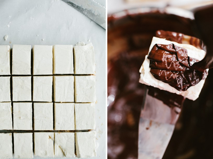 Salted Peanut Caramel Ice Cream Bars // Not Without Salt