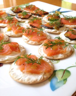 Admirable This Delicious Bagel I Made A Variation It Can Actually Serve As A Snack Or Appetizer Or If You Eat Alot Smoked Salmon Cream Cheese Crackers Not Your Average College Food At My Mom