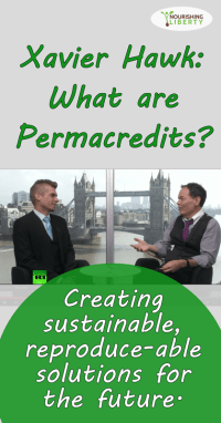 Permacredits explained by Xavier Hawk: hope for the future!