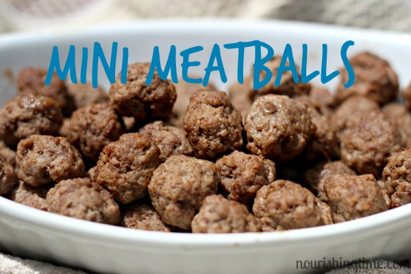 Mini Meatballs