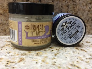 Fat Face Stank Stop versus Primal Pit Paste