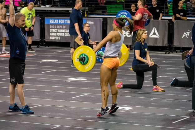 Chelsea Nicholas - CrossFit NW Regionals 2014, Photo by Henry House