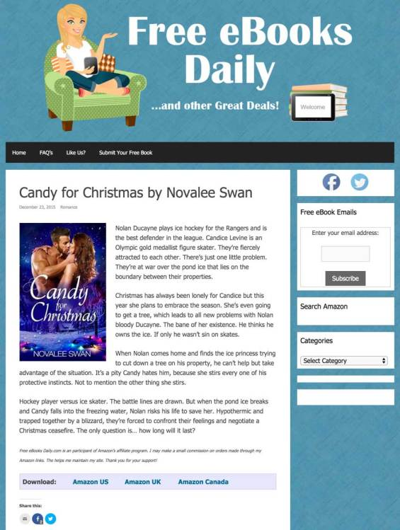 Candy featured at Free Ebooks Daily — $3