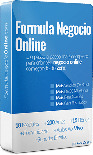 Fórmula Negócio Online 2.0: Curso completo de marketing digital