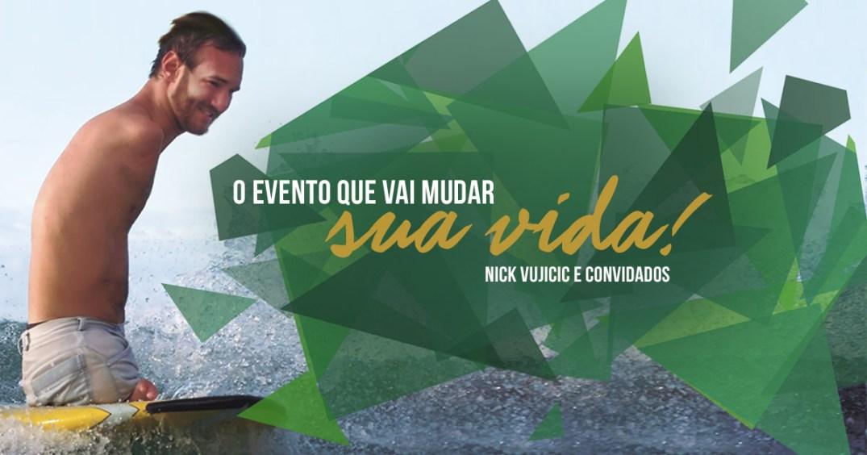 Nick Vujicic no Brasil 2016 Evento Experiência Sem Limites