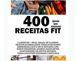 Ebook 400 Receitas Fit com Cardápios – Emagrecendo com a Camis