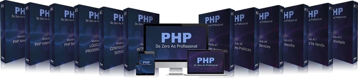 Aprenda a programar com o Curso PHP do Zero ao Profissional