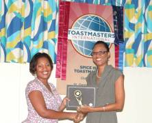 Spice Isle Toastmasters Speech Contest