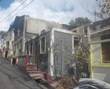 Houses Destroyed By Early Morning Fire