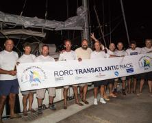 Yacana and Sensation Class 40 finishes RORC Race