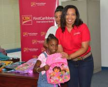 CIBC FirstCaribbean Donates to Over 50 Students