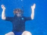 Obligatory underwater photo