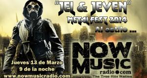 ►Now Music 13032014 : Escucha aquí el Hell & Heaven Metal Fest de Jhonathan David