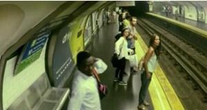 #LoMásViral: ¡ Un tren fantasma sorprende el subterráneo de Madrid ! (+VIDEO)