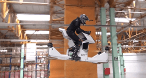 """#Curiosidades: La primer """"Moto Voladora"""" realiza ya sus primeras pruebas(+VIDEO)"""
