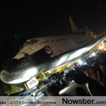 Space Shuttle Endeavor – Enroute to the California Science Center